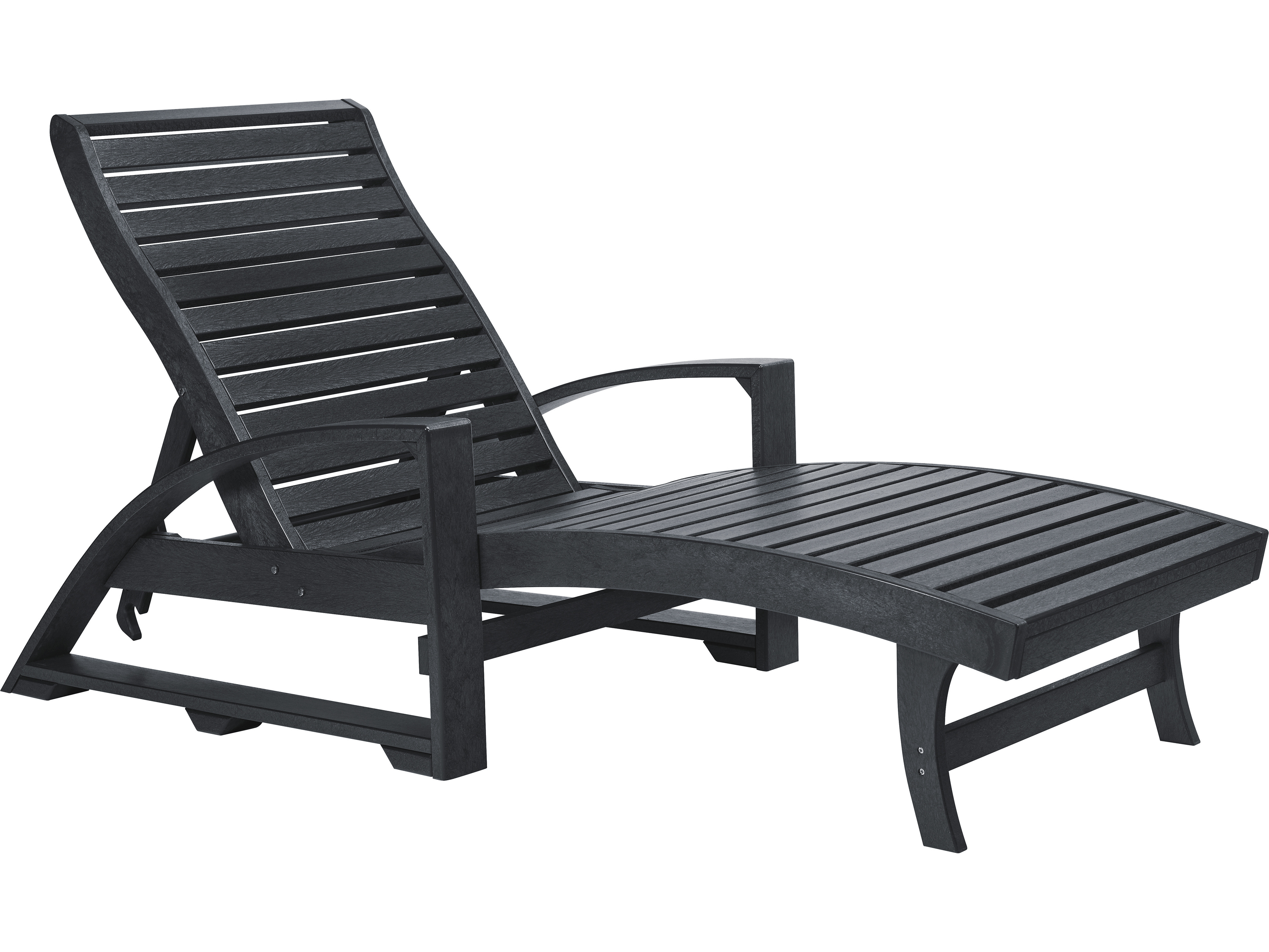 c r plastic st tropez recycled plastic chaise lounge