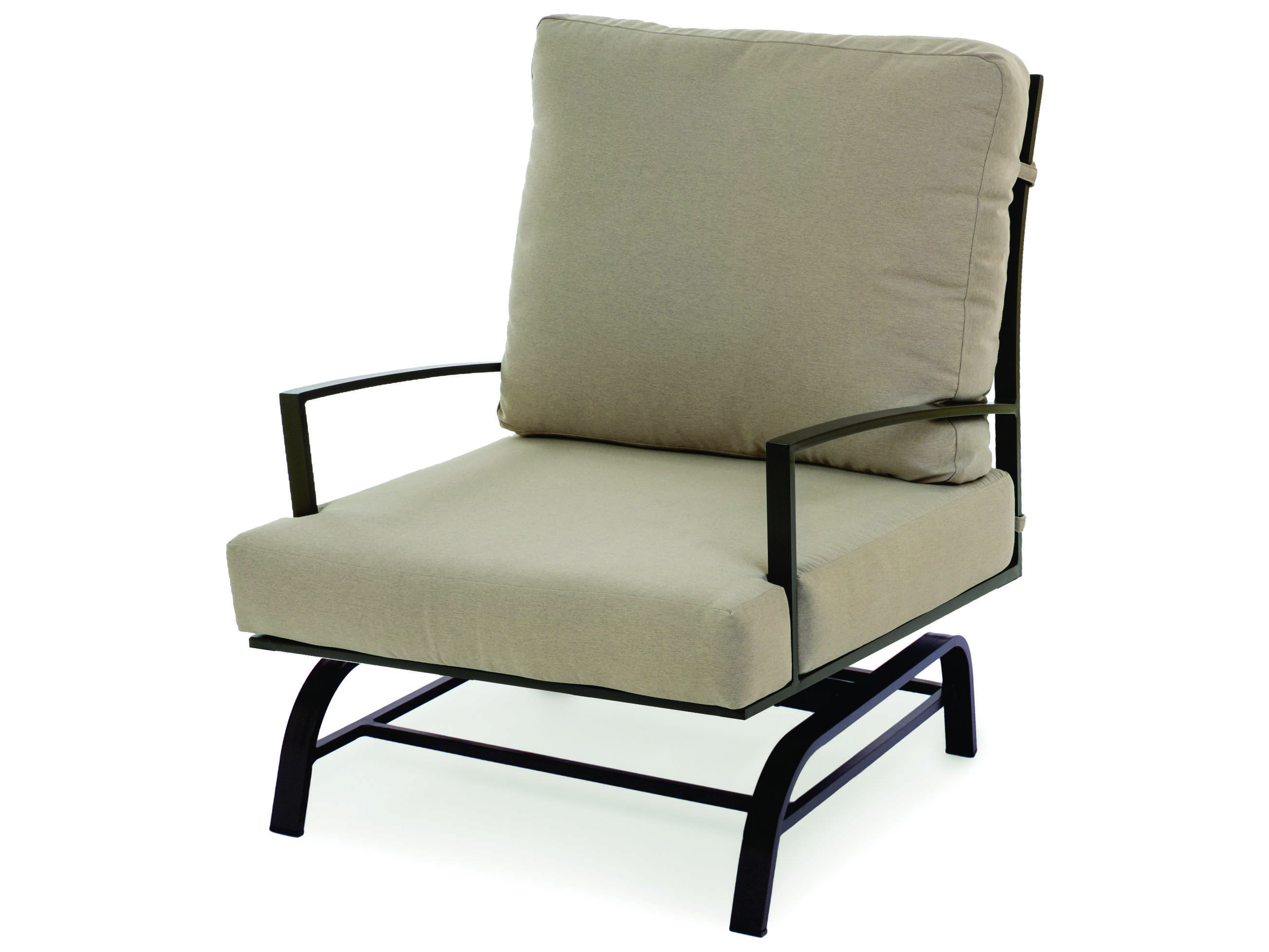 cushions for glider chairs hover round caluco san michele aluminum cushion arm lounge