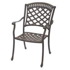 Restaurant Chair Repair Kitchen Table And Chairs With Wheels Darlee Outdoor Living Standard Sedona Replacement Dining