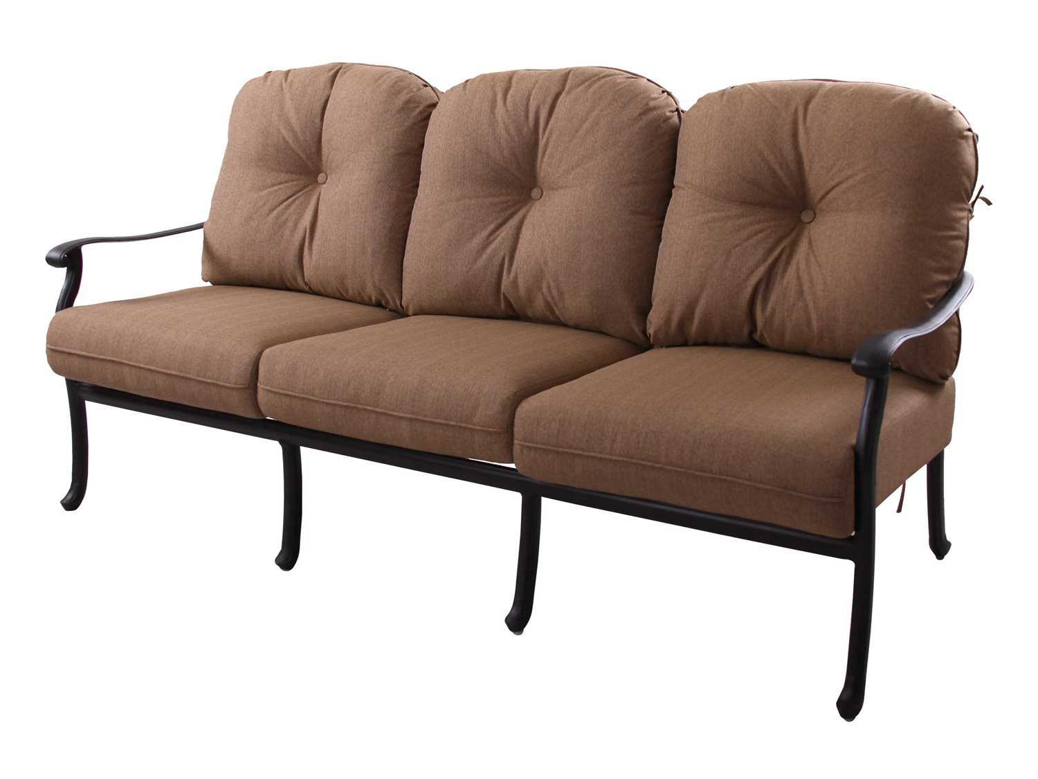replacement cushions for sofa backs lounger darlee outdoor living standard sedona