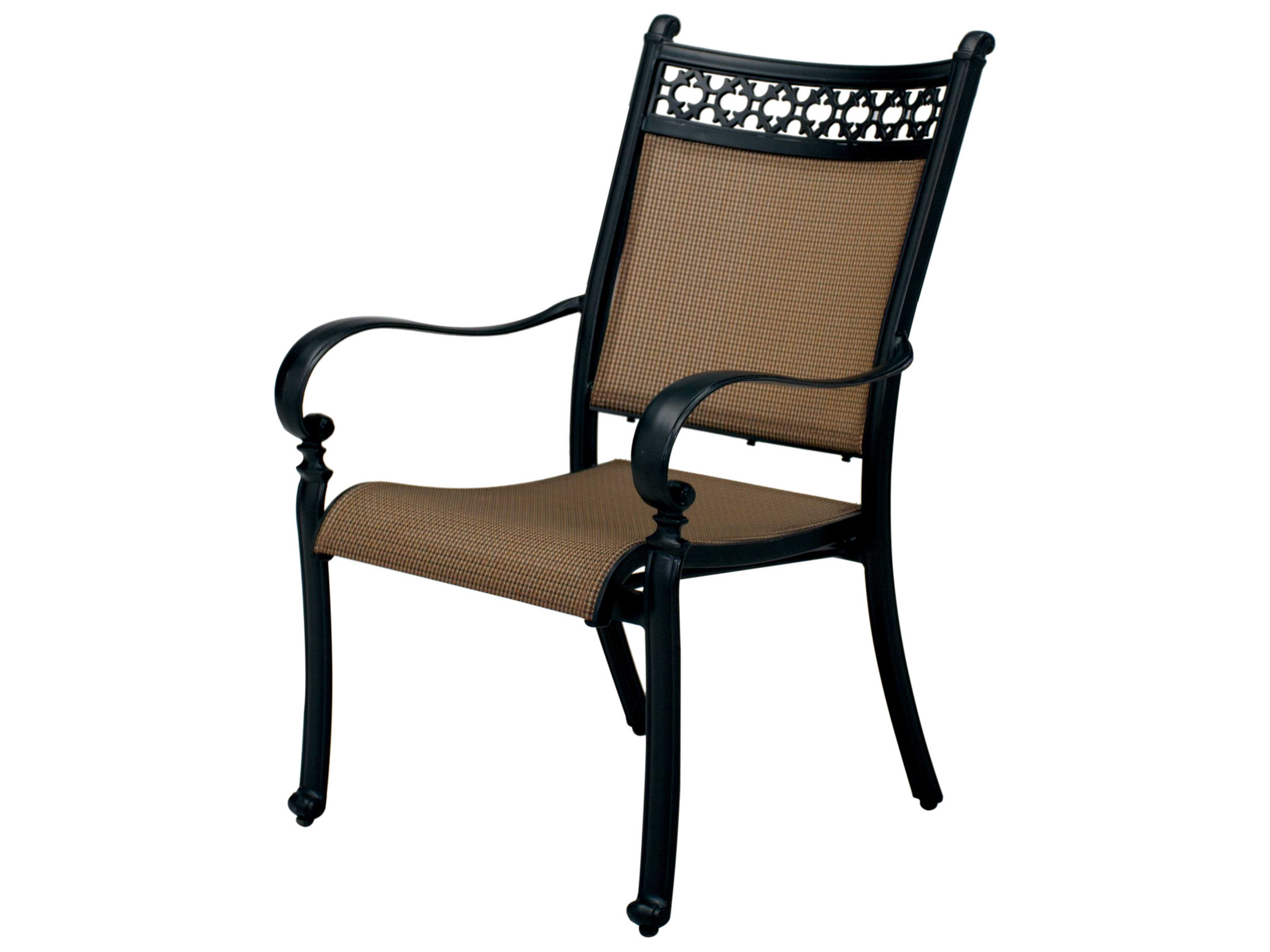 Sling Chairs Darlee Outdoor Living Standard Mountain View Cast Aluminum