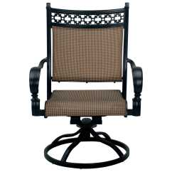 Sling Chairs For Sale White Rent Darlee Outdoor Living Standard Mountain View Cast Aluminum
