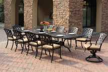 Darlee Ocean View Cast Aluminum Dining Set Da20163011pc30le