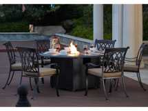 Darlee Outdoor Living Standard Capri Cast Aluminum 7