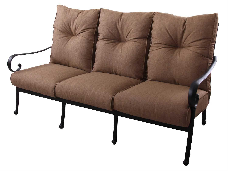 replacement cushions for sofa backs eilersen baseline m chaiselong darlee outdoor living standard santa anita