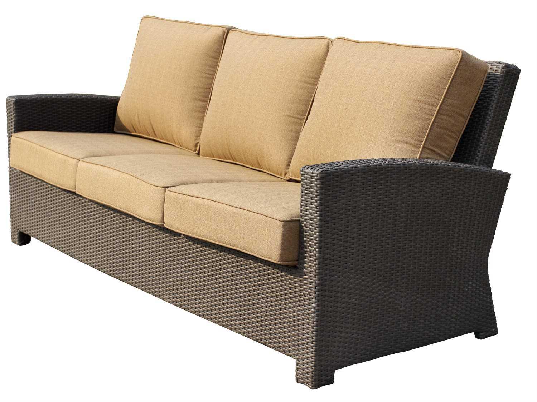 replacement garden sofa cushions lobby design darlee outdoor living standard vienna