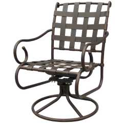 Outdoor Aluminum Chairs Iron Rocking Chair Darlee Living Standard Malibu Cast
