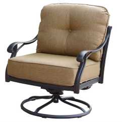 Replacement Chair Covers For Outdoor Chairs Bohemian Hanging Darlee Living Standard Nassau Swivel