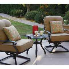Santa Monica Sofa Set Sectional Sofas With Recliner Darlee Outdoor Living Standard Cast Aluminum