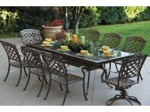 Cast Aluminum Outdoor Dining Table
