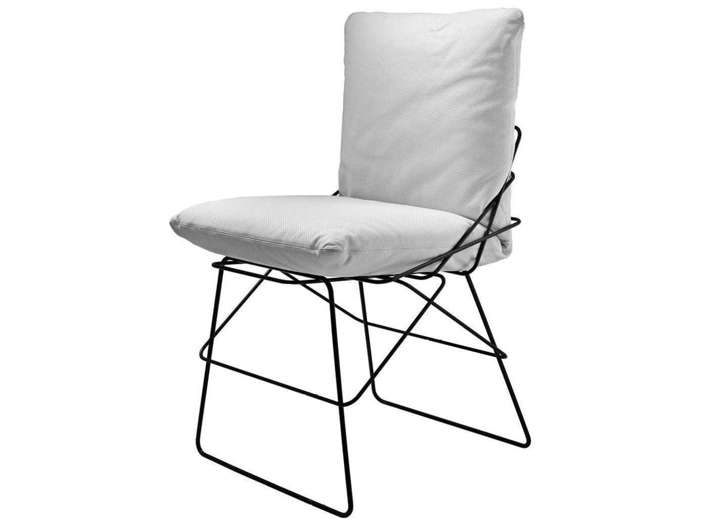 steel chair with cushion revolving in hindi driade sof outdoor dining 8302501b