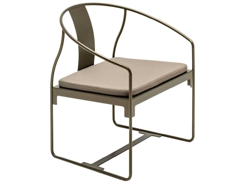 steel chair with cushion nursery grey driade mingx armchair in bronze dri8420352
