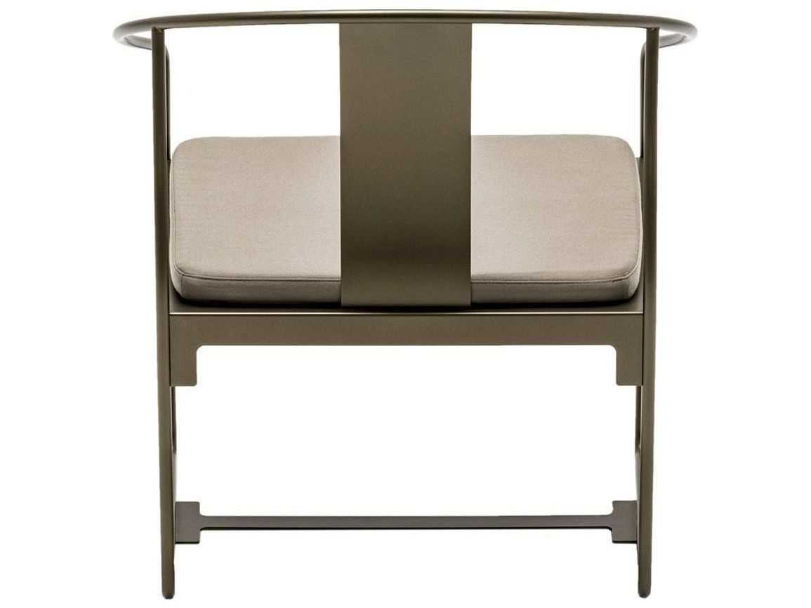 steel chair with cushion used rocking chairs for sale driade mingx armchair in bronze dri8420352