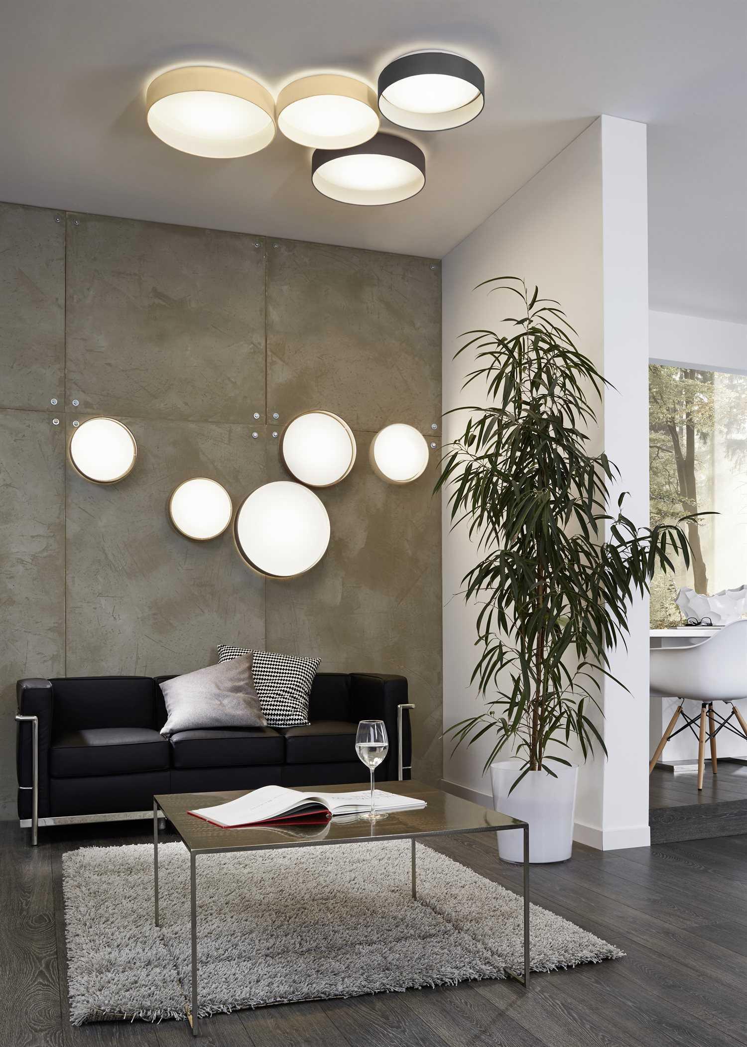 aluminum lounge chairs evenflo high chair recall canada eglo palomaro white 13'' wide led flush mount light   egl93386a