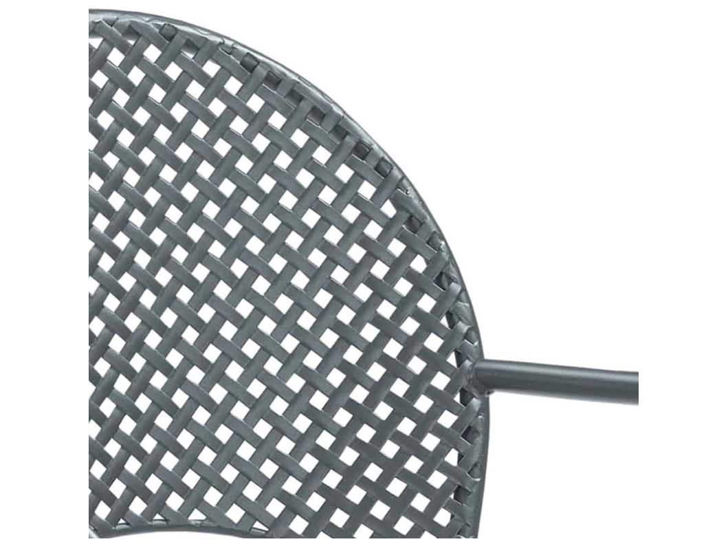 Emu Sole Steel Stacking Armchair