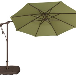 Plastic Beach Chaise Lounge Chairs Leather Massage Chair Treasure Garden Cantilever Aluminum 10' Octagon Tilt & Lock Offset Umbrella   Ag19