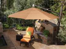 Treasure Garden Cantilever Patio Umbrella