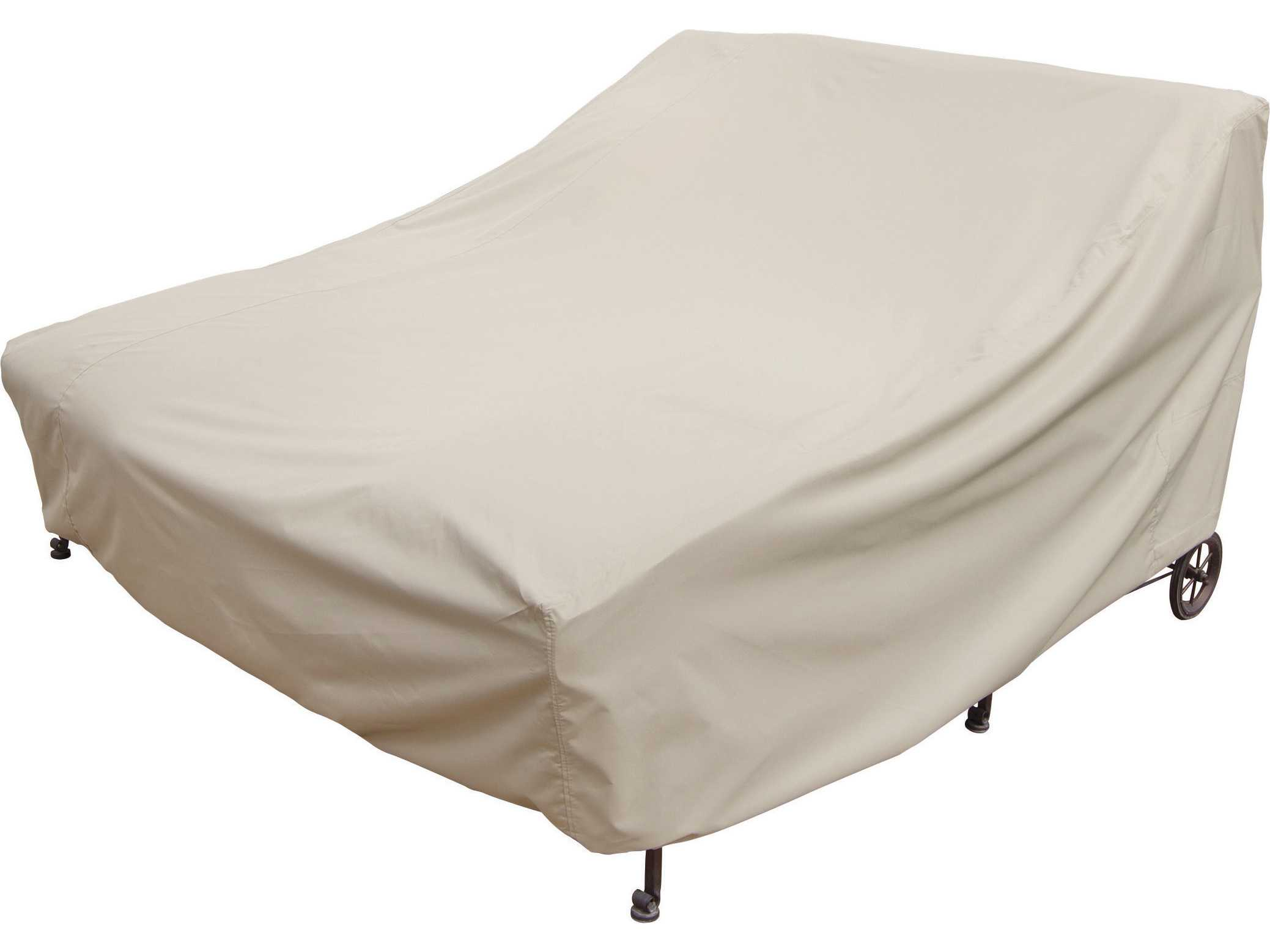 lounge chair covers spotlight cosco kitchen stool treasure garden double chaise cover cp141