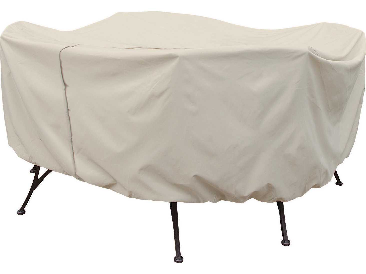spotlight outdoor chair covers nichols and stone windsor treasure garden 48 round table chairs cover with