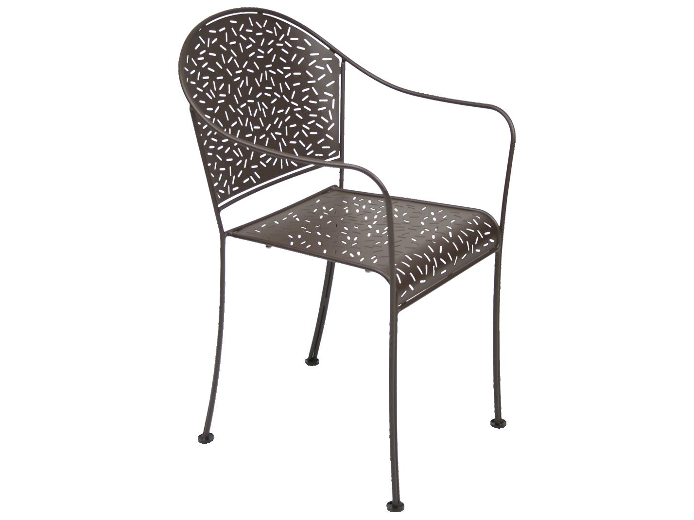 Fermob Rendez Vouz Steel Metal Dining Chair Set Of 2