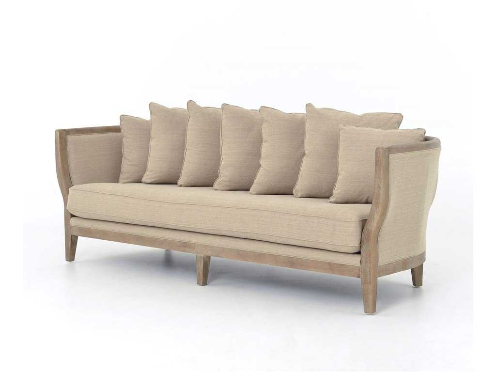 kensington chaise sofa bed floor level ikea four hands hyde clay hayes 96 5 fscmic55z030