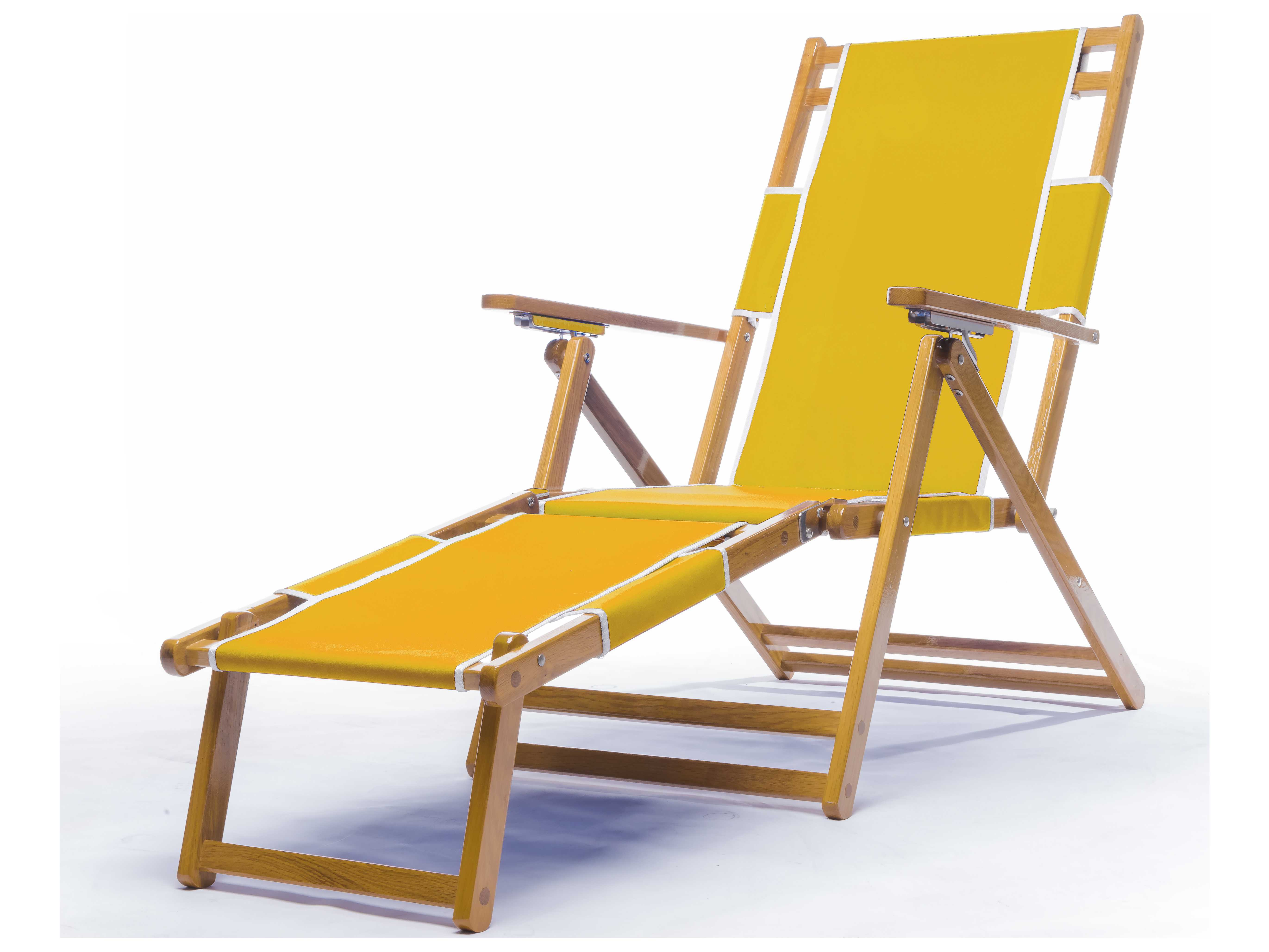 Beach Sling Chair Frankford Umbrellas Wooden Beach Lounge Chair With