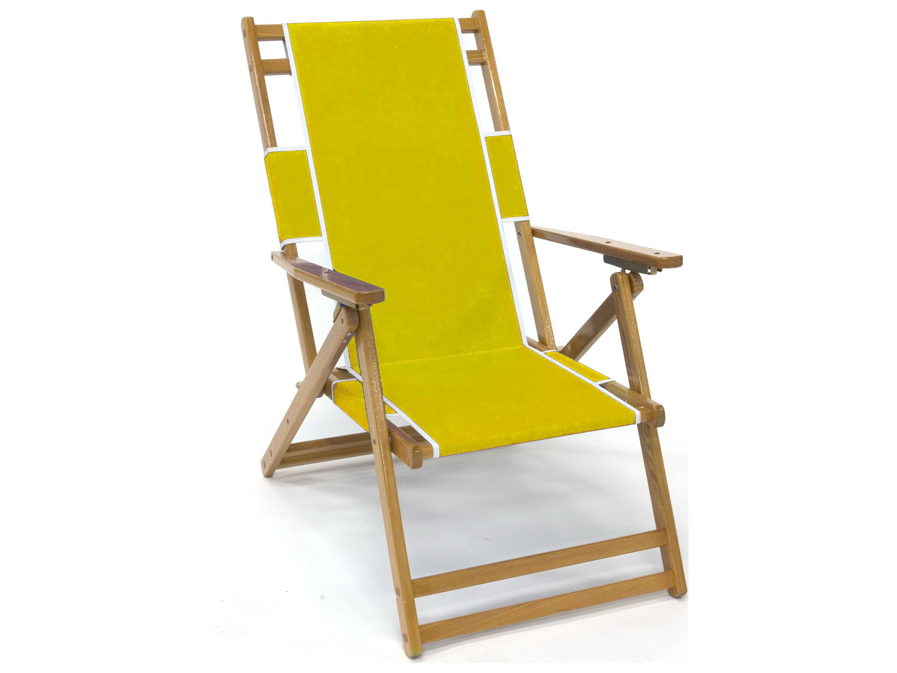 Beach Lounger Chair Frankford Umbrellas Wooden Beach Lounge Chair Fc101nf