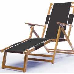 Sail Cloth Beach Chairs Paul Mccobb Frankford Umbrellas Wooden Lounge Chair With