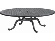 Gensun Grand Terrace Cast Aluminum 54 Chat Table