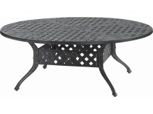 Gensun Verona Cast Aluminum 54 Chat Table With