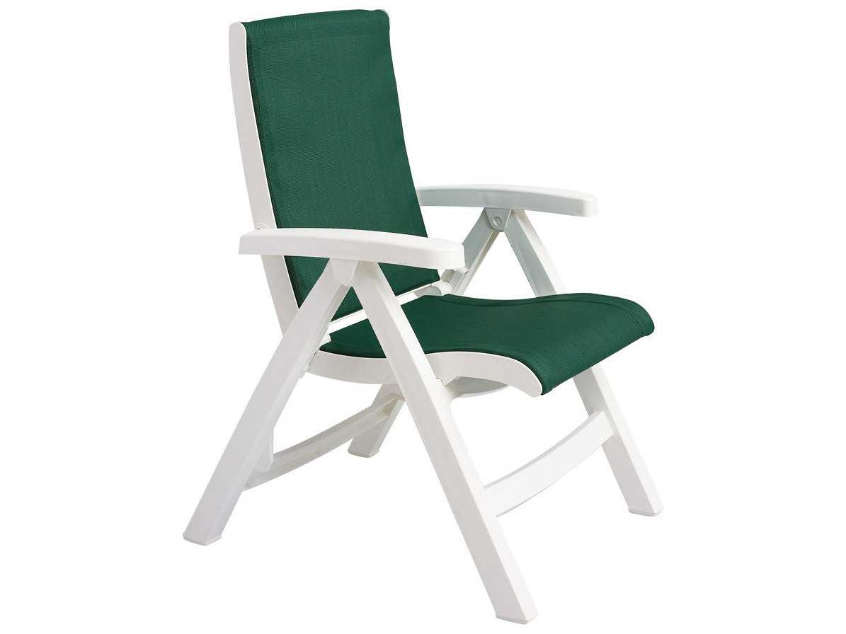 grosfillex madras lounge chairs coastal kitchen table and jersey midback resin folding sling chair