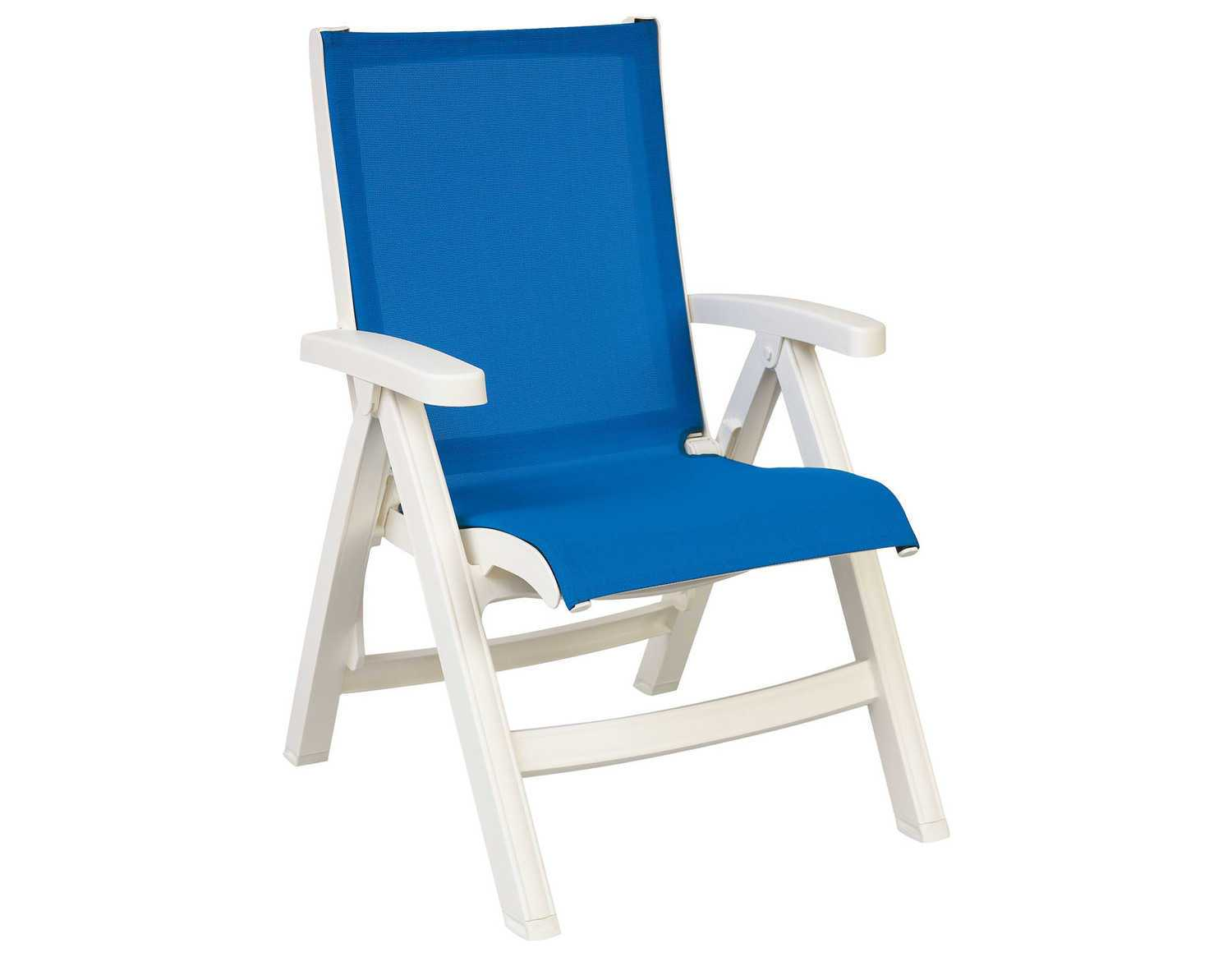 white plastic lounge chairs recliner chair cheap grosfillex belize midback resin folding sling