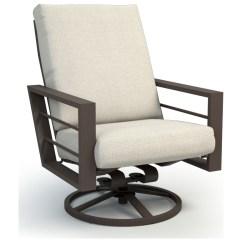Lounge Chair Covers Spotlight Eddie Bauer High Light Wood Homecrest Sutton Cushion Aluminum Back Swivel Rocker