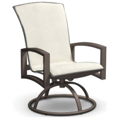 Sling Motion Patio Chairs Swivel Desk Uk Homecrest Havenhill Aluminum Arm Rocker