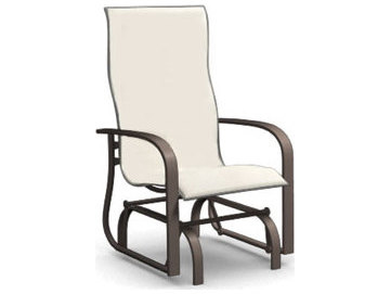 glider chair accessories wedding covers scarborough homecrest holly hill sling aluminum arm dining