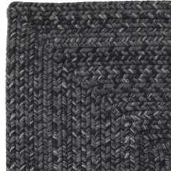 Plastic Beach Chaise Lounge Chairs Back Jack Homespice Decor Ultra Durable Braided Rectangular Black Area Rug  