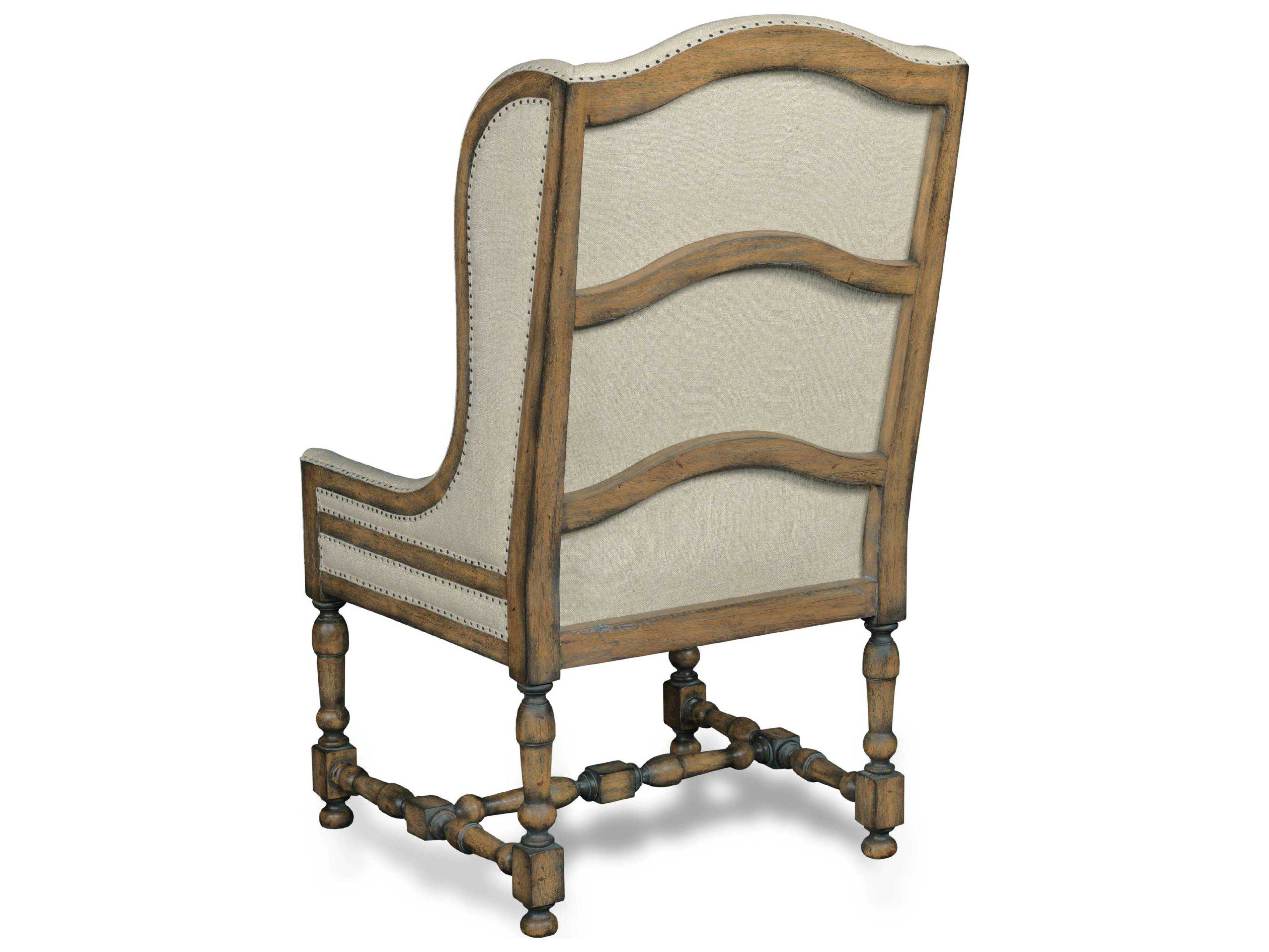 dark wood dining chairs spandex chair covers aliexpress hooker furniture davalle chateau linen