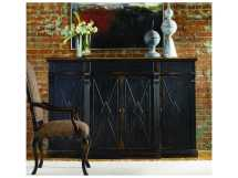 Hooker Furniture Sanctuary Ebony & Drift 77''l X 21''