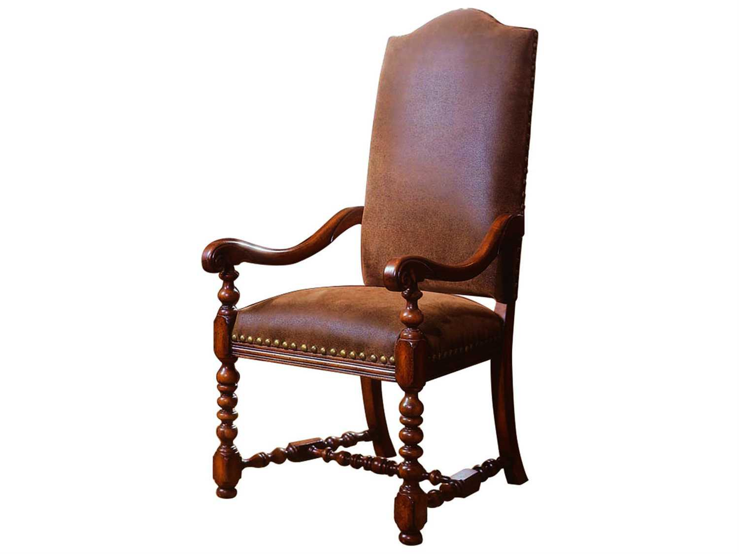 cherry dining chairs chair seat covers diy hooker furniture waverly place distressed antique