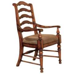 Distressed Adirondack Chairs How To Make A Chair Cushion Hooker Furniture Waverly Place Antique Cherry