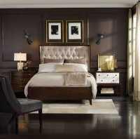 Hooker Furniture Palisade Upholstered Panel Bed Bedroom ...
