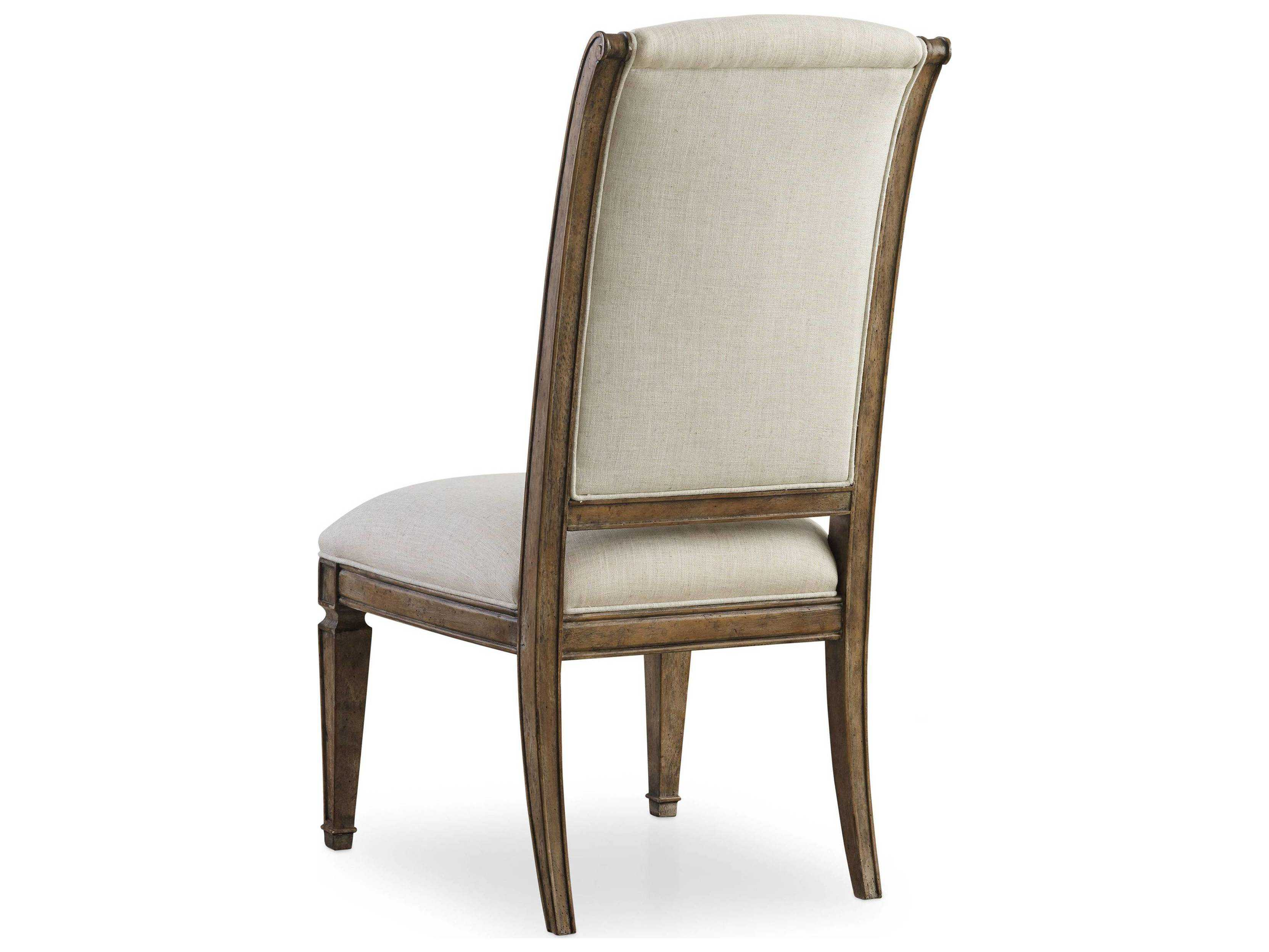 light wood dining chairs gold folding chair covers hooker furniture solana side
