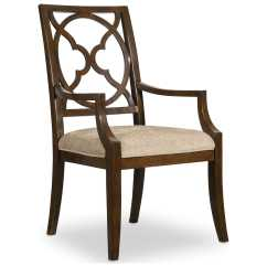 Cathedral Chairs High Back For Dining Room Hooker Furniture Skyline Fretback Dark Cherry
