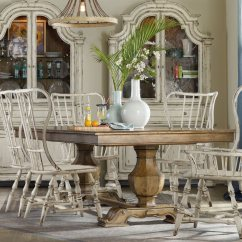 Non Wood Adirondack Chairs Dining Table And 6 Sets Hooker Furniture Sanctuary Vintage Chalky White Spindle Back Side Chair | Hoo540375310