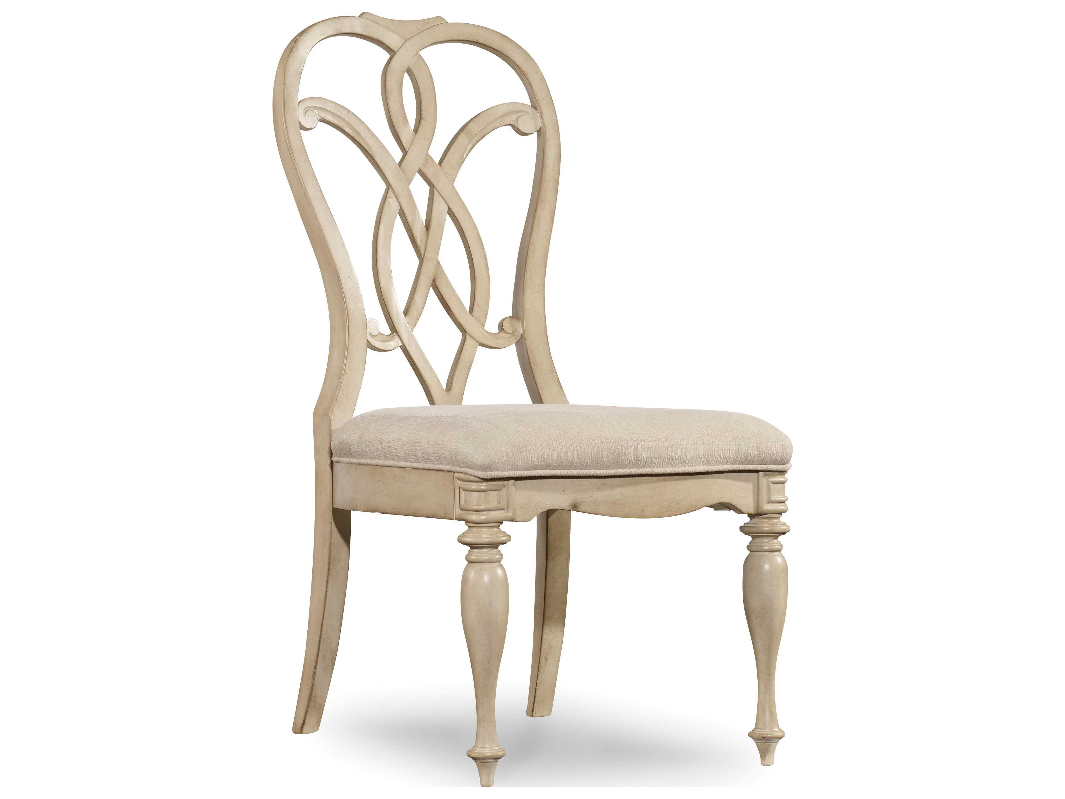 antique white dining chairs wedding chair covers hooker furniture leesburg splatback
