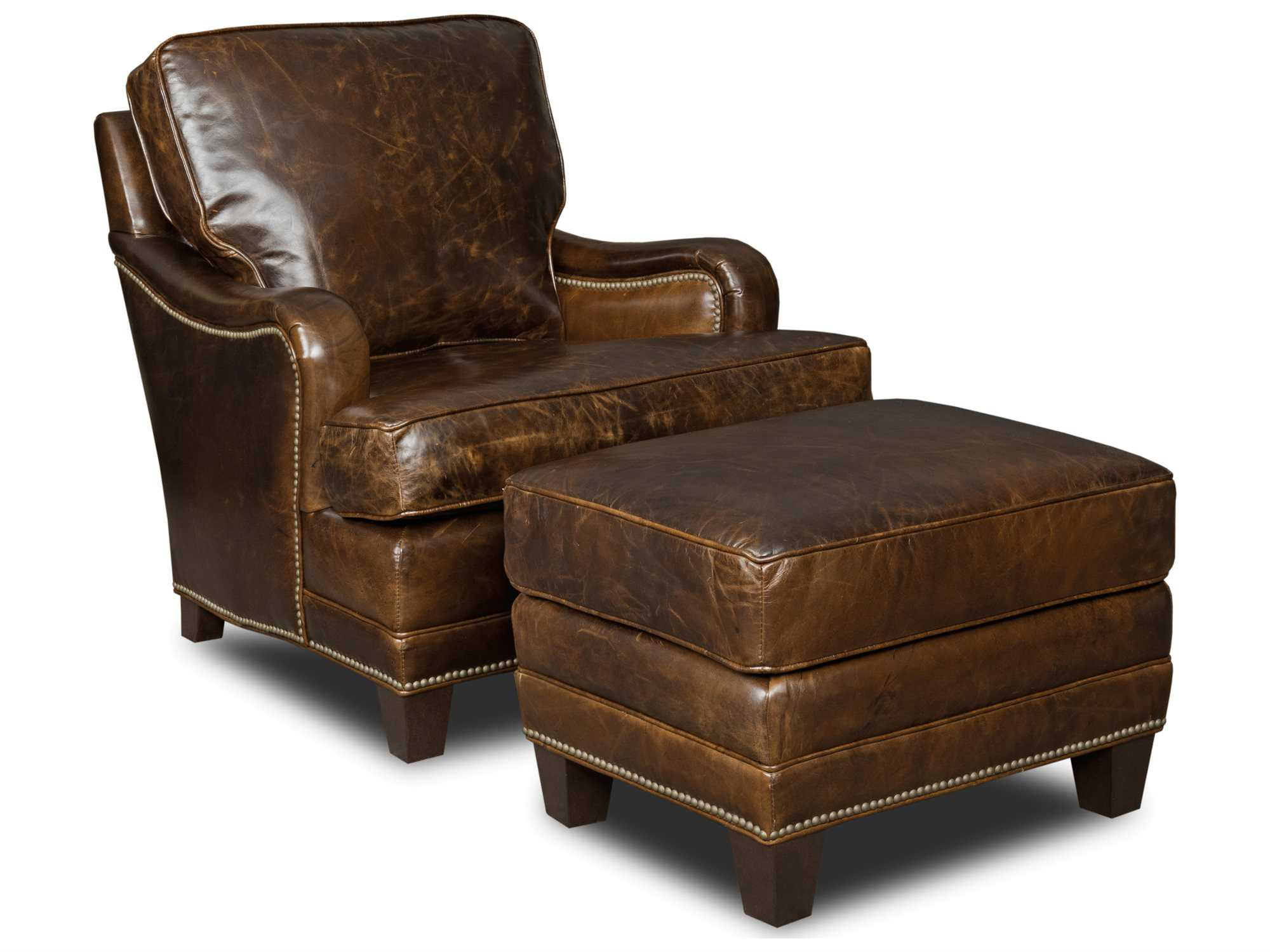 Chair And Ottoman Hooker Furniture Covington Parish Chair And Ottoman Set