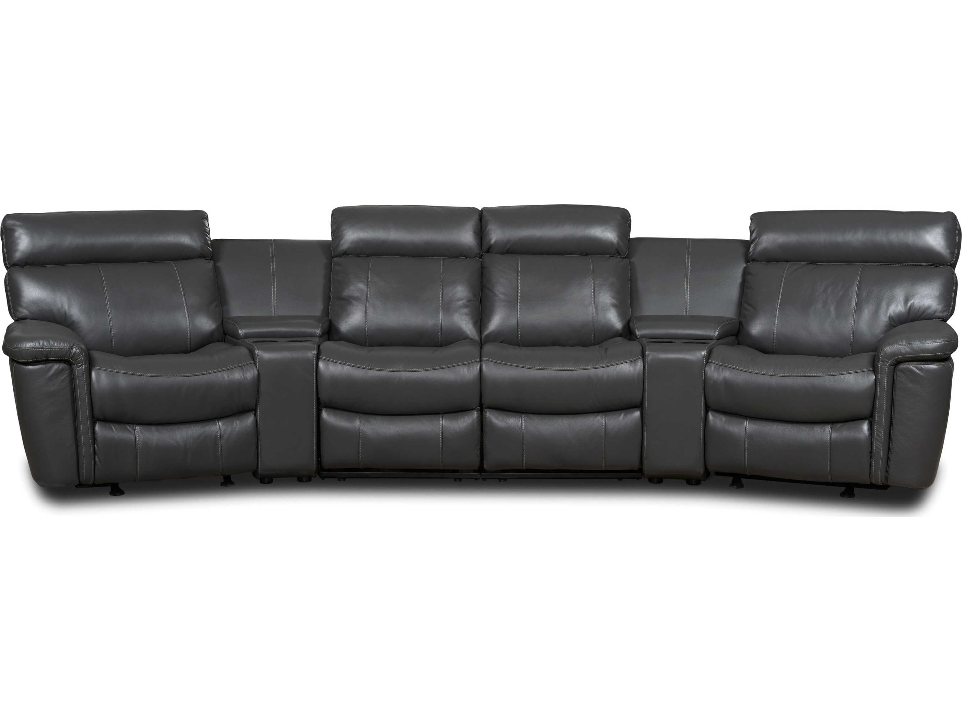 liberty 2 piece sofa and motion loveseat group in grey sofas couches sandton hooker furniture gray six home theater