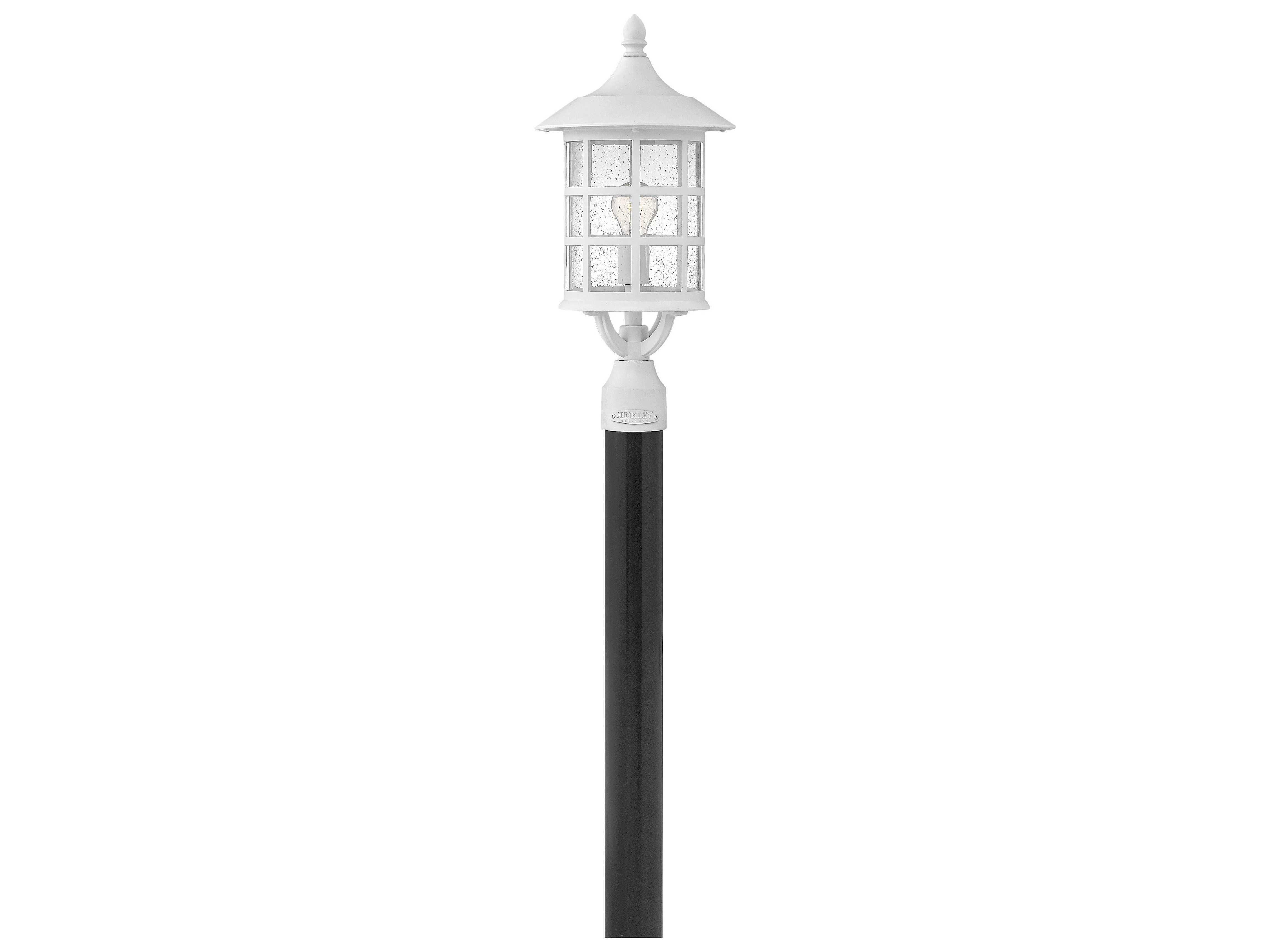 Hinkley Lighting Freeport Classic White Led Outdoor Post Light