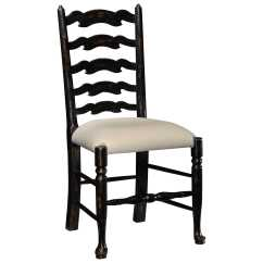 Distressed Black Dining Chairs Wholesale Spandex Chair Covers Jonathan Charles Country Farmhouse Painted Honey