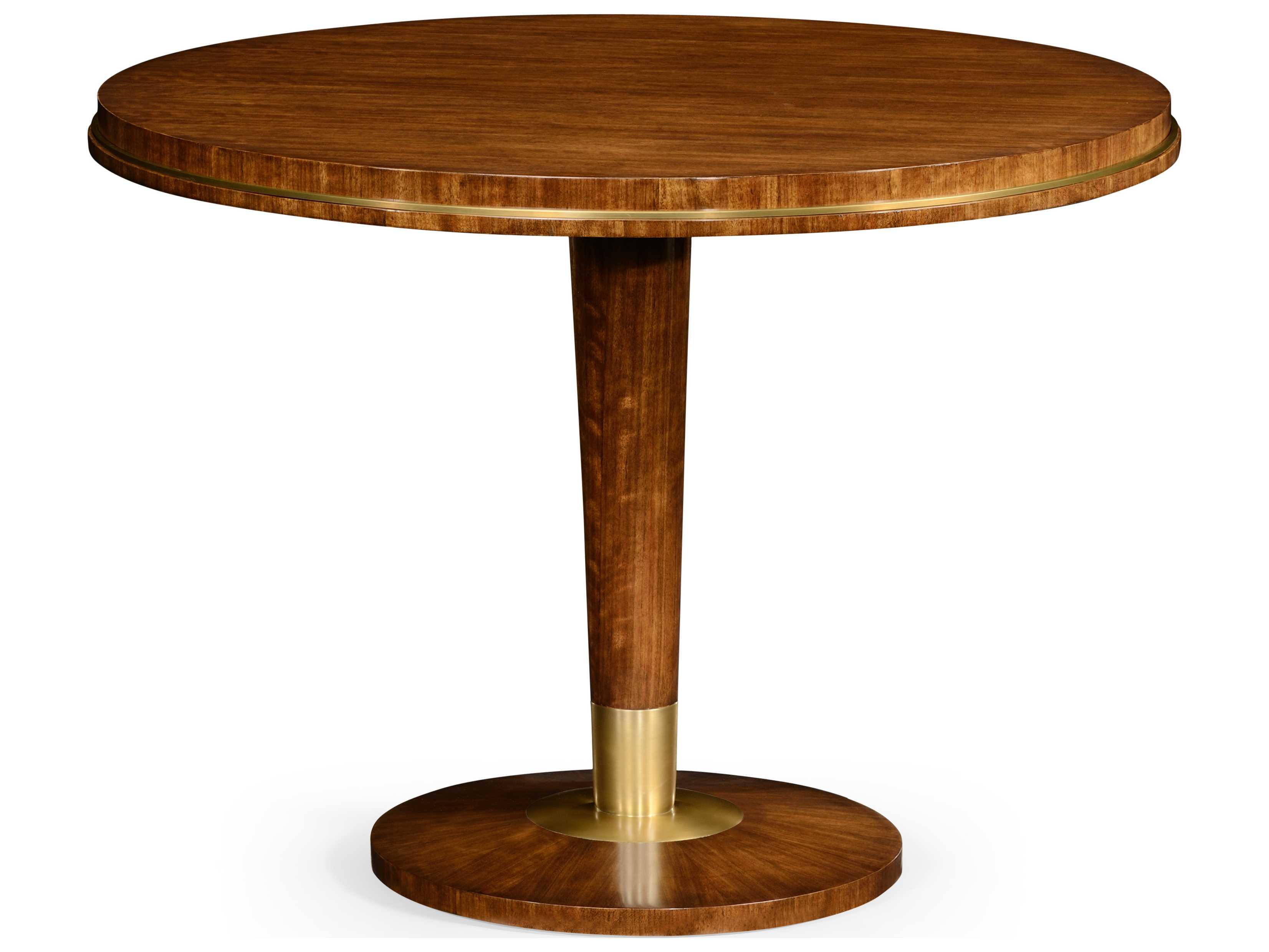 Jonathan Charles Cosmo Light Daniella 40 Round Foyer Table  494953
